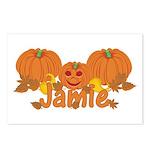 Halloween Pumpkin Jamie Postcards (Package of 8)