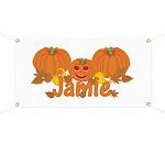 Halloween Pumpkin Jamie Banner