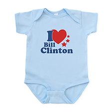 I Love Bill Clinton Infant Bodysuit