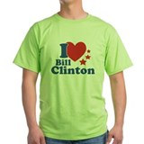I Love Bill Clinton T-Shirt