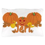 Halloween Pumpkin Jeri Pillow Case