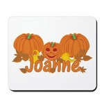 Halloween Pumpkin Joanne Mousepad