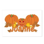 Halloween Pumpkin Joanne Postcards (Package of 8)