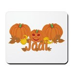 Halloween Pumpkin Jodi Mousepad