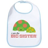 Big Sister Turtle Bib