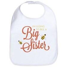 I'm Going to BEE a Big Sister Bib
