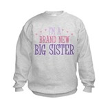 Brand New Big Sister Sweatshirt