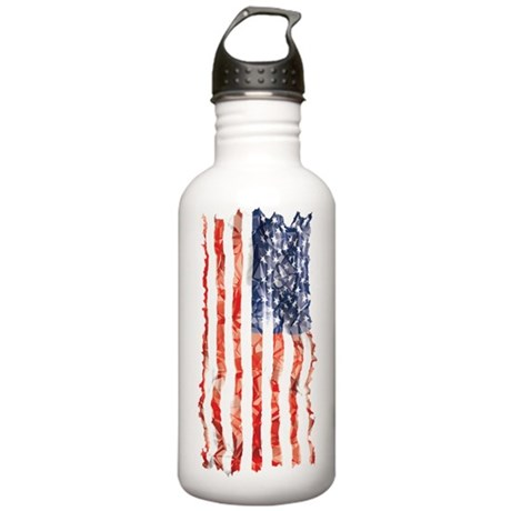 US Flag Stainless Water Bottle 1.0L