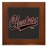 Cheaters Framed Tile