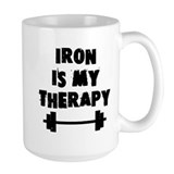 Iron is my therapy Coffee Mug