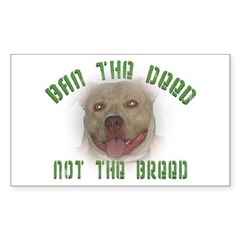 Anti-BSL custom Rectangle Sticker