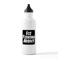 Ice Fishing Addict Water Bottle