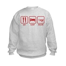 Eat Sleep Bacon Sweatshirt