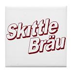 Skittle Brau Tile Coaster