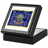 Boise City, Idaho Keepsake Box