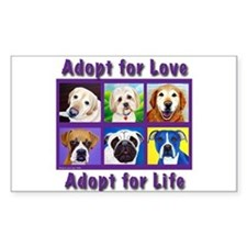 Adopt for Love, Adopt for Life Decal