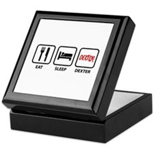 Eat Sleep Dexter Keepsake Box