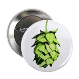 Green hop drawing 2.25&amp;quot; Button