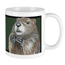 Emerging Groundhog Mug