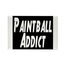 Paintball Addict Rectangle Magnet