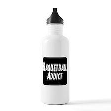 Raquetball Addict Water Bottle