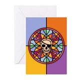 stained-pir-T.png Greeting Cards (Pk of 20)