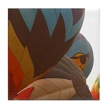 Hot Air Balloon Inflation Tile Coaster