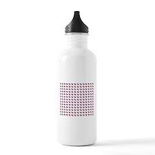 Democrat Donkey Pattern.png Water Bottle
