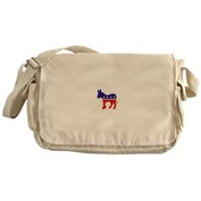 Democrat Party Donkey Messenger Bag