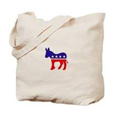 Democrat Party Donkey Tote Bag