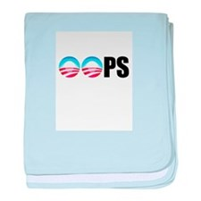 Obama OOPs baby blanket