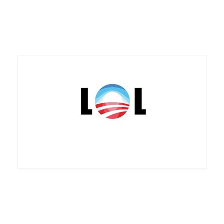 Obama - LOL 35x21 Wall Decal