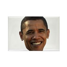 Obama Head Rectangle Magnet