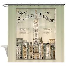 Skyscrapers Of Philadelphia Shower Curtain