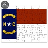 North Carolina State Flag Puzzle