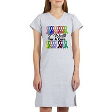 Cancer I Walk For A Cure Women's Nightshirt