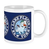 Lake Placid Snowman Circle Mug