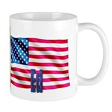 Ed Personalized USA Flag Mug