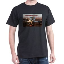 I'm just plane crazy: plane at Page, Arizona T-Shirt