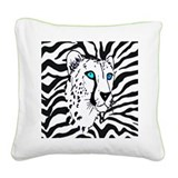 Tiger Square Canvas Pillow