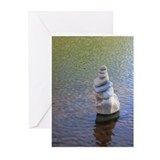 Zen Rocks I  Greeting Cards (Pk of 10)