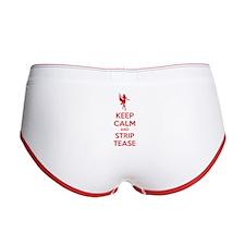Keep calm and striptease Women's Boy Brief