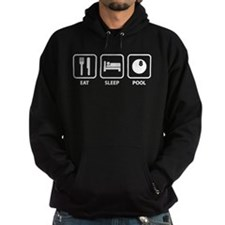 Eat Sleep Pool Hoodie