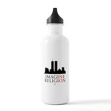 Imagine No Religion Water Bottle