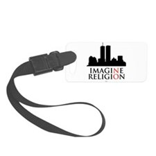 Imagine No Religion Luggage Tag
