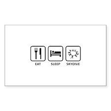 Eat Sleep Skydive Decal