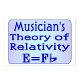 &quot;Music Teacher Theory&quot; Postcards (Package of 8)