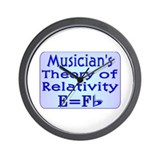 """Music Teacher Theory"" Wall Clock"