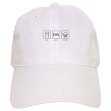 Eat Sleep Stud Baseball Cap