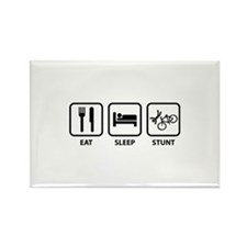 Eat Sleep Stunt Rectangle Magnet (10 pack)